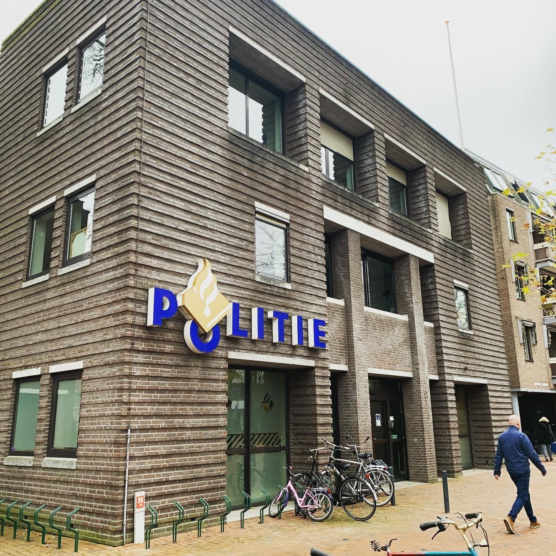 politiebureau Hilversum overdag