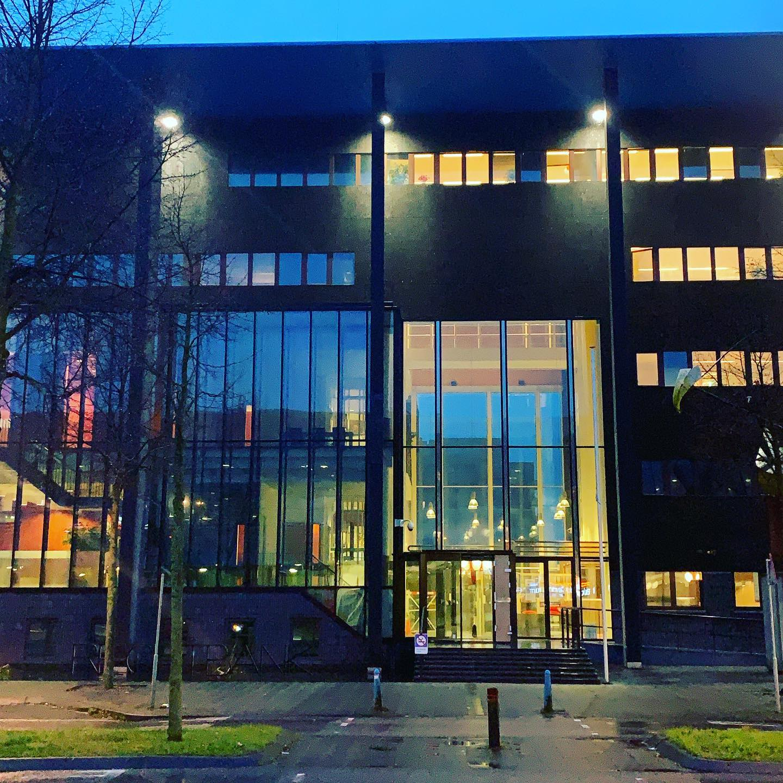Rechtbank Lelystad in de ochtend
